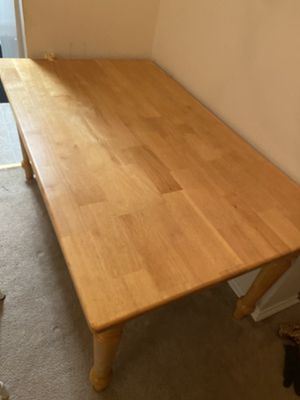 Sturdy Dinning table 5x 3. Approx for Sale in Alexandria, VA