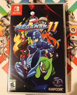Mega Man 11 Nintendo Switch for Sale in San Diego, CA