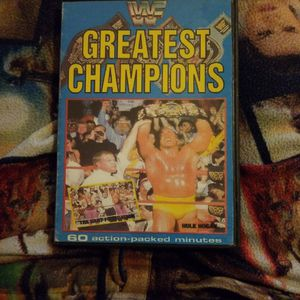WWF Greatest champions Dvd for Sale in Chicago, IL