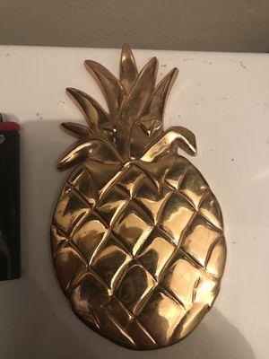Brass Pineapple Decor for Sale in Jacksonville, FL