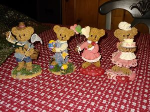 Collectable kuddles Korner bear figurines for Sale in Silver Spring, MD