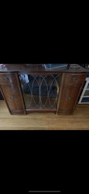 Antique China Cabinet Buffet for Sale in Westchester, CA