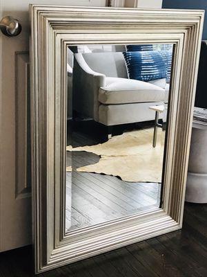 Silver Mirror 40x30 for Sale in Alexandria, VA