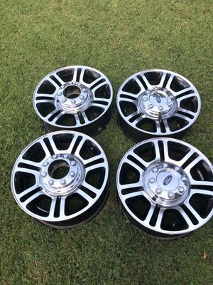 2015/ F 250 factory rims and Michelin tires for Sale in Tyler, TX
