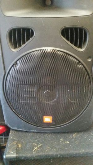 jbl eon g2 15 and horn powered for Sale in Lexington, KY