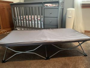 Regalo portable fold up cot for Sale in Buffalo, NY