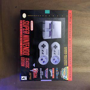 Super Nintendo Classic Edition BRAND NEW COLLECTORS for Sale in Miami, FL