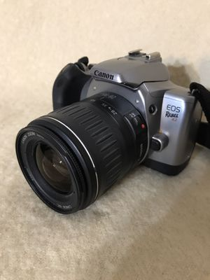 Canon EOS Rebel K2 35mm Film Camera w/ Canon Zoom Lens EF 28-90mm 1:4-5.6 for Sale in Anchorage, AK