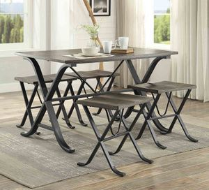 New 5pc. Dining Table Set for Sale in Austin, TX