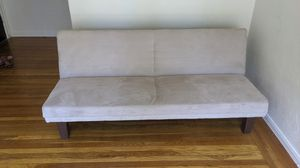 DHP Dillan Convertible Futon Couch Bed with Microfiber Upholstery for Sale in San Francisco, CA