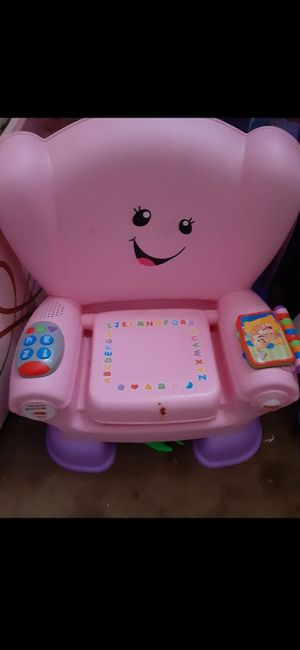 Play school pink chair, lots of kids stuff check out my offers for Sale in Weymouth, MA