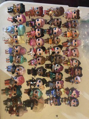 Second hand lol dolls as shown $6 each for Sale in Schertz, TX