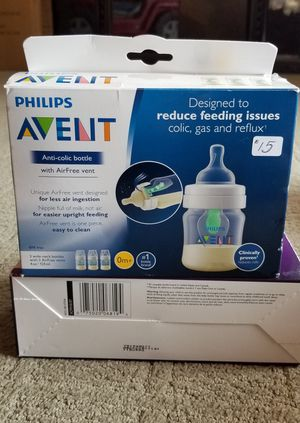 New Avent anti-colic with AirFree vent 4oz bottle for Sale in Riverside, CA