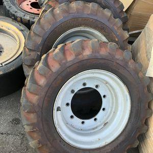 4 Bobcat Air tires With Rims (slightly Used) for Sale in San Bernardino, CA