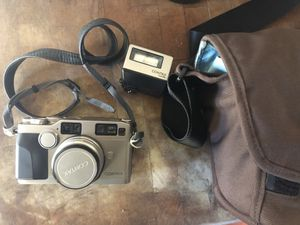 Contax G2 film camera with 35mm lens original strap and a camera bag for Sale in Costa Mesa, CA