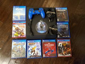 PS4 Pro and 9 Kid/Teen friendly games for Sale in Cypress, TX