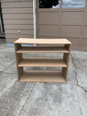 Adjustable partical board shelving for Sale in North Plains, OR