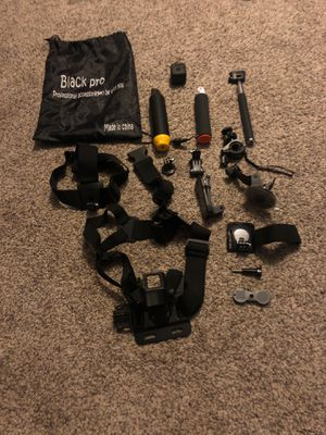 GoPro Hero Session with accessory kit for Sale in Mesa, AZ