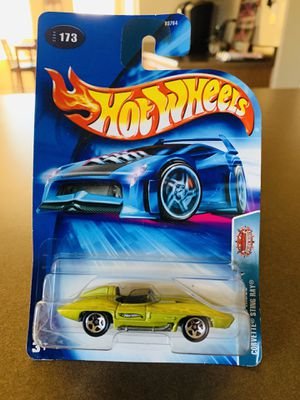 Hot Wheels 2003 Pride Rides Corvette Stingray 5 spoke,clear windows,CHINA version for Sale in Tolleson, AZ