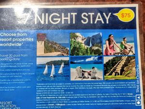 First 55 callers recieved an 8day 7 night resort stay for only $75 for Sale in Largo, FL
