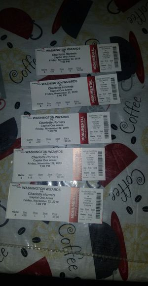 Washington wizards tickets for Sale in Washington, DC