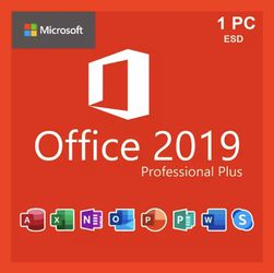 Microsoft Office 2019 Professional Plus for Sale in Hialeah,  FL