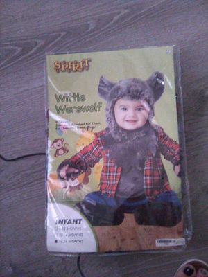 Wittle werewolf costume. 18-24 months for Sale in Fresno, CA