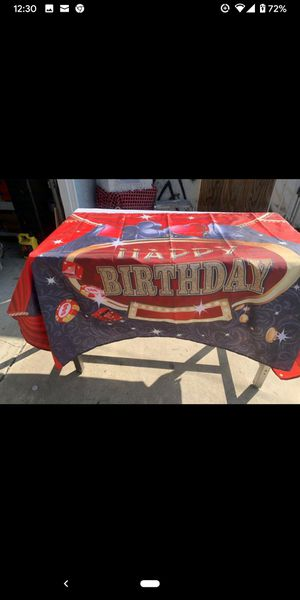 Casino Theme Birthday Banner for Sale in City of Industry, CA