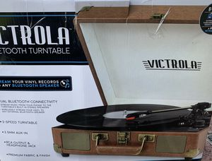 Victrola: The Ultimate Bluetooth Suitcase Record Player with 3-Speed Turntable - Stream Vinyl to Any Bluetooth Speaker! for Sale in Alexandria, VA
