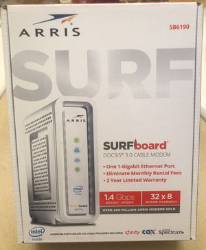 ARRIS - SURFboard 32 x 8 DOCSIS 3.0 Cable Modem - White - NIB for Sale in Seattle, WA