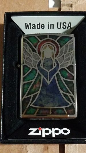 Zippo angel fusion high polished chrome 28967 for Sale in Los Angeles, CA