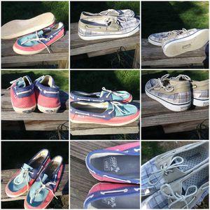 Ladies sz 10 SPERRY & VANS $5 ea or both for $8 for Sale in Albemarle, NC