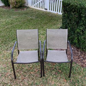 Two Outside Patio/Lanai Chairs! READ FULL DESCRIPTION 👇🏻 for Sale in St. Cloud, FL