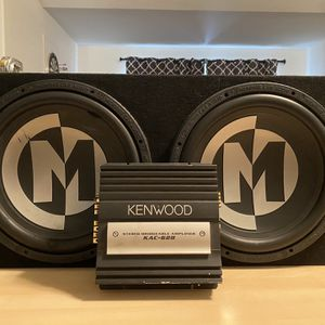 Memphis Competition Speaker And Kenwood Amp for Sale in Surprise, AZ