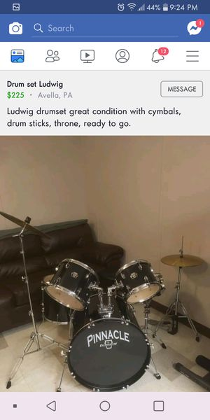 Drum set for Sale in Canonsburg, PA