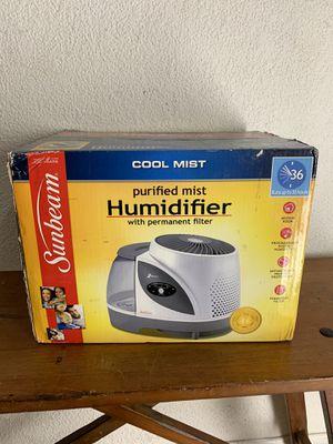 Sunbeam SCM7809 Cool Mist Digital Humidifier for Sale in Miami, FL