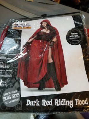 Red riding hood plus size Halloween costume size 3x for Sale in La Vergne, TN