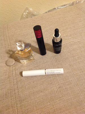 Lancome Beauty Bundle Lot Set NEW ULTA Sephora all travel Size -Advance genifique youth activating concentrate -La vie est belle eau de perfume par for Sale in Federal Way, WA