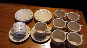 Longaberger Traditional Blue teacup & saucer (set of 8) for Sale in Mill Creek, WA