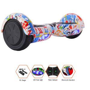 Hoverboard new in the box blue tooth with light for Sale in Temecula, CA