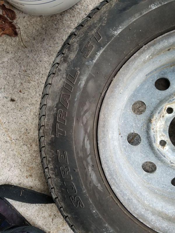 4 Trailer Tires