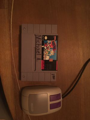 Super Nintendo Mario paint with mouse for Sale in Visalia, CA