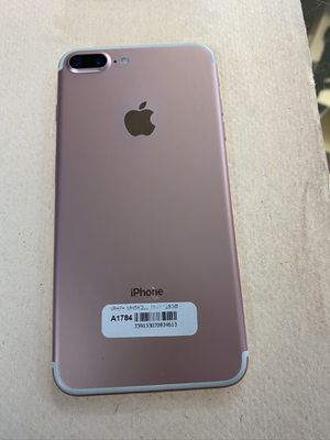 iphone 7+ 128 go factory unlocked mint condition rose gold. for Sale in Downers Grove, IL