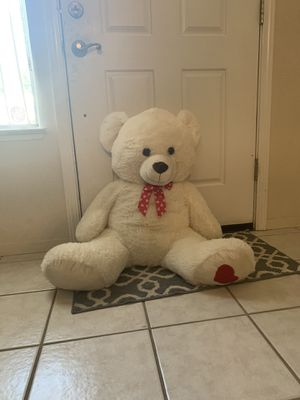 White teddy bear for Sale in Shingle Springs, CA