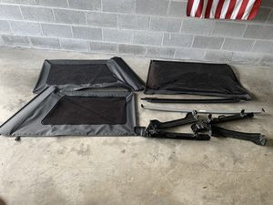 Jeep soft top parts for Sale in Sterling, VA