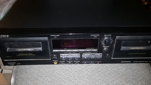 Sony Stereo Cassette Deck TC-WR545
