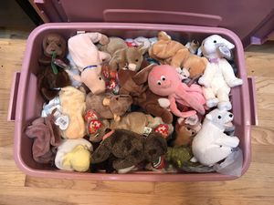 Beanie babies new with tags some rare for Sale in Vancouver, WA