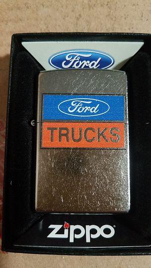 Zippo Ford trucks logo street chrome 29066 for Sale in Los Angeles, CA