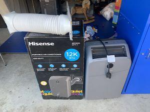 Hisense portable AC unit 400 sq ft 12K BTU for Sale in San Diego, CA
