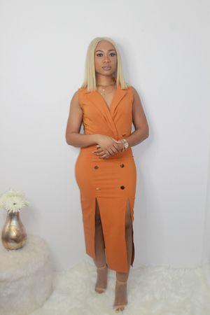 Brown classy dress for Sale in Pembroke Pines, FL
